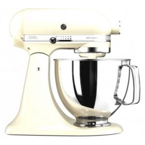 KitchenAid - Artisan' 4.8L Almond Cream stand mixer -0