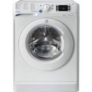 Indesit 10KG 1600 Spin Washing Machine -White-0