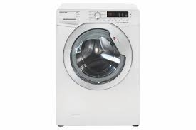 Hoover Dynamic Link 9KG 1400 Spin Freestanding Washing Machine - White-0