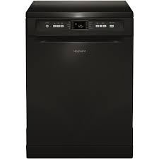 Hotpoint Extra Freestanding 60cm 13 Place Dishwasher - Black-0