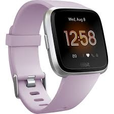 Fitbit Versa Lite Edition - Purple/Silver-0