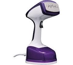 Verti Steam Pro Hand Steamer - White & Purple-0