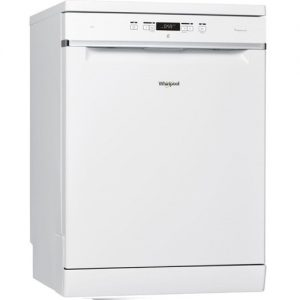 Whirlpool 6th Sense 14 Place Freestanding Dishwasher -White-0