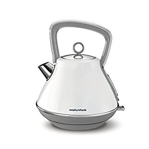 Morphy Richards Evoke Pyramid Kettle - White-0
