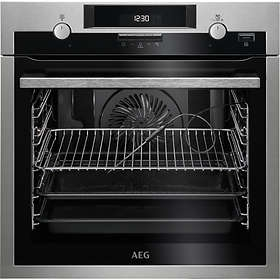 AEG SteamBake Single Electric Oven - Stainless Steel-0