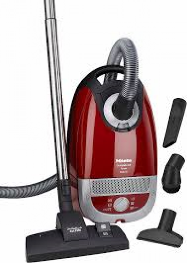 Miele Complete, C2 Powerline Vacuum Cleaner, Red -0