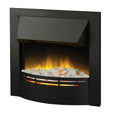 Dakota Black Optiflame Inset Electric Fire-0