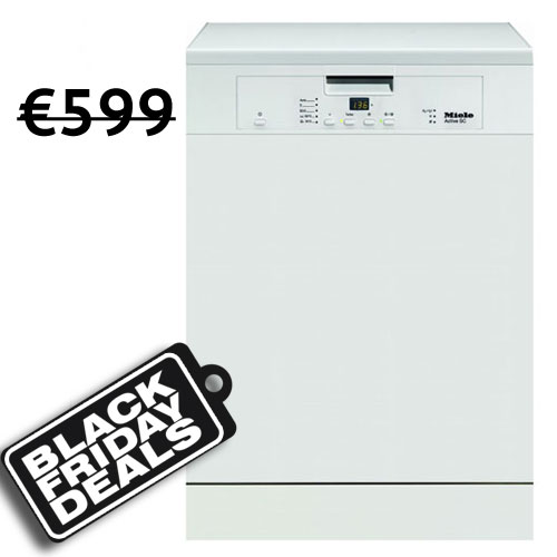 Miele 60cm 14 Place Freestanding Dishwasher With Cutlery Tray I White-15138