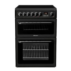 Hotpoint 60cm Cooker Black-0