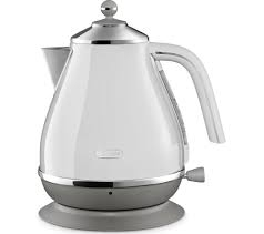 DELONGHI Icona Capitals Jug Kettle - White-0