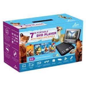 Lava Portable DVD Player Bundle-0