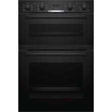 Bosch Serie 4 Electric Built-In Double Oven - Black-0