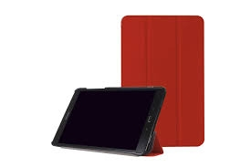 Tactus Samsung Tab A 10.1 Slim Smart Cover - Red-0