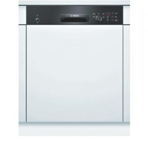 Bosch Serie 4 Active Water 12 Place Semi Integrated Dishwasher - Black Control Panel -0