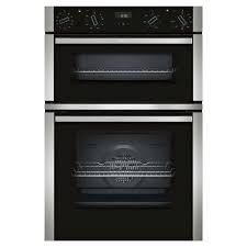 Neff  60cm Built-In Double Oven - Stainless Steel-0