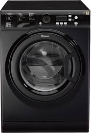 Hotpoint 9KG 1400 Spin Washing Machine Black-0