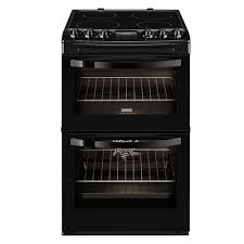 Zanussi 55cm Freestanding Electric Cooker I Black -0