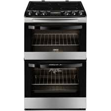 Zanussi 55cm Freestanding Electric Cooker I Stainless Steel -0